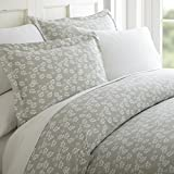 ienjoy Home 3 Piece Wheatfield Patterned Home Collection Premium Ultra...