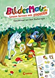 Bildermaus - Lesen lernen mit Stickern - Geschichten aus dem Zauberwald: Mit Bildern lesen lernen - Ideal für die Vorschule und Leseanfänger ab 5 Jahre