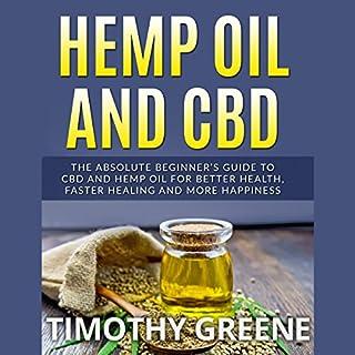 Hemp Oil and CBD audiobook cover art