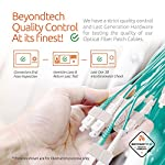 Multi Mode Fibre Patch Cord - Duplex - UPC/UPC - 50/125um OM3 10G Multi-Packs / - Beyondtech PureOptics Cable Series 12 Beyondtech high-quality laser-optimized 50/125 Multimode LC to SC OM3 Fiber Patch Cable is specially designed for fast Ethernet, Fiber Channel, Gigabit Ethernet Speeds, data center, premises, educational, LAN, SAN, commercial and Asynchronous Transfer Mode (ATM) applications. It supports video, data and voice services. LC-SC 3 Meters OM3 Fiber Patch Cable LOMMF connects to 10GBase-SR, 10GBase-LRM, SFP+ and QSFP+ transceivers for 10Gb networks. This OM3 Multimode Fiber Optics Patch Cable conforms to ITU-T G.651.1, TIA/EIA 492AAAC and IEC60793-2-10 A1a.2a standards and complies with all RoHS environmental specifications.