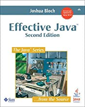 Effective Java: A Programming Language Guide