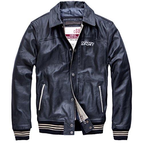 Cordon Sport Lederjacke schwarz, Größe S