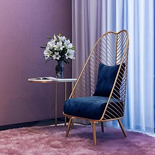 Stoel LKU Enkele vrije tijd kleine banknet rode modellen ins wind slaapkamer woonkamer eenvoudig balkon Amerikaanse vrijetijdsstoel, Boom klap3
