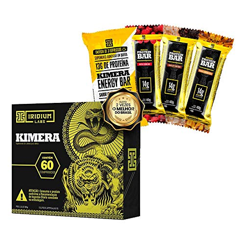 Kit Kimera Thermo 60 comp + Snacks Proteicos
