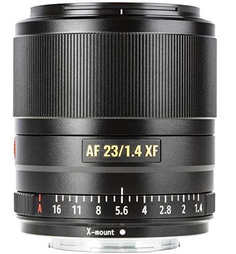 VILTROX 23mm f1.4 XF Autofokus-Weitwinkelobjektiv kompatibel mit Fuji X-Mount Kameras, hohe Lichtstärke, ideal für WW-Porträts, Streetfotografie, Architektur, Reise und Video