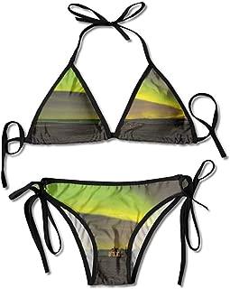 Swimsuit Bikini Full Coverage On Abandoned House in Aurora Printing Bikini