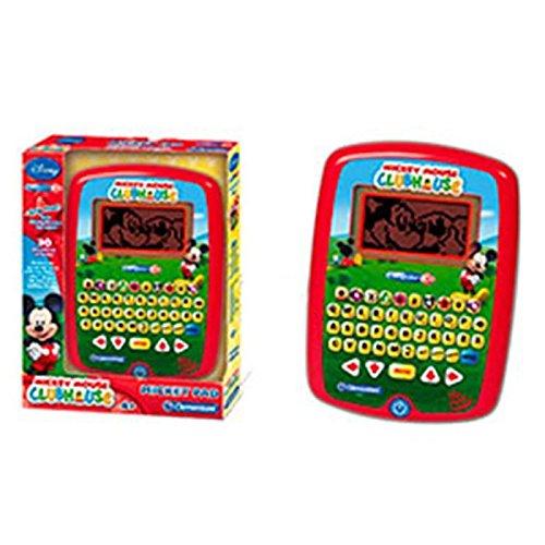 La Casa de Mickey Mouse - Tablet con 30 Actividades con Voz (Clementoni)