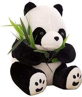 MQUPIN Giant Panda Plush Toy-Stuffed Animal Boy Girl Birthday Gift,Baby Shower Present- Panda Teddy Bear with Baby Panda Stuffed Animal Doll Decoration (30cm/11.8inch)