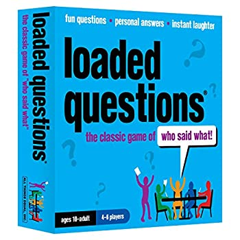 Loaded Questions - The Family/Friends Version of the Classic Game of  Who Said What  - from All Things Equal Inc  Blue