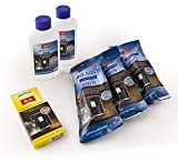 Melitta 6pc Maintenance Kit for Coffee Machines, Water Filter, Liquid Descaler, Cleaning Tabs, Anti-calc