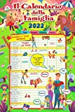 Euro Publishing Calendario Agenda Famiglia 2022 Cm 29 X 44