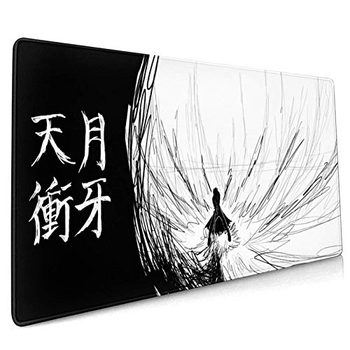 Ble-ACH 10 Mouse Pad 15.8x35.5 in Multipurpose Mousepad Desk Mat for Gamer Office Home (40x90cm)