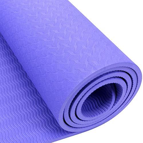 EIIDJFF Esterillas Yoga Antideslizante El Efecto De Rebote Es Una Buena Amortiguación Rápida De Descompresión Antideslizante Perfecta For El Gimnasio del Gimnasio Que Acampa El Estiramiento ABS
