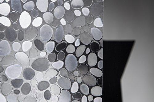 Statische Fensterfolie Stones in 90cm Breite Sichtschutzfolie (Meterware)