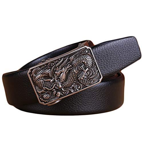 Naxxramas Cinturones para Hombres - Emperador Estilo Dragon Hebilla - Únic...