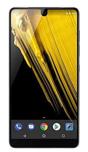 Essential Phone in Halo Gray - 128 GB Unlocked Titanium and Ceramic phone with Edge-to-Edge Display