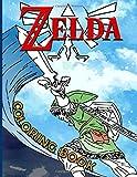 Zelda Coloring Book: Fantastic Zelda Coloring Books For Adults, Boys, Girls