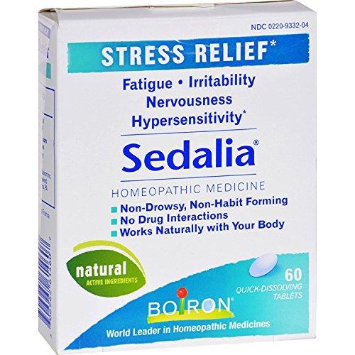 Boiron Sedalia Stress - 60 Tablets (Pack of 2)