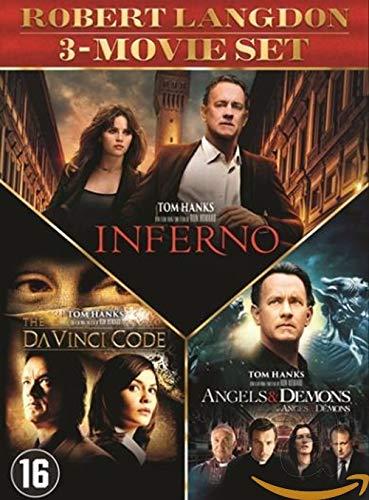 Da Vinci Code + Anges et Demons + Inferno