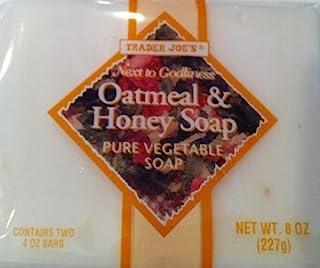 10x 8oz Bag TRADER JOE'S Oatmeal and Honey Soap, Pure Vegetable Soap