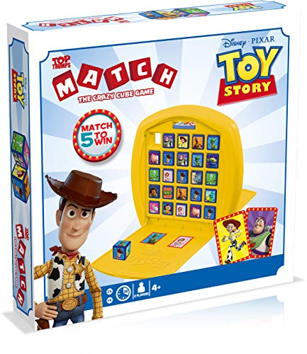 Disney Pixar Toy Story Top Trumps Game of Match