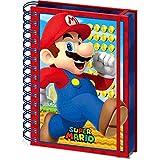 スーパーマリオ - (35周年記念) - Mario /3Dカバー / ノート 【公式/オフィシャル】