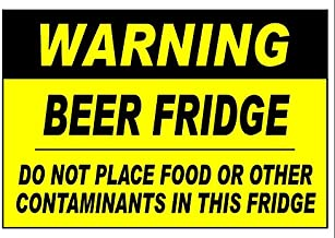 Beer Fridge Magnet - Measures 3 1/2 X 5 inches -