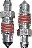 APDTY 23819 Brake Bleeder Screws - M7-1.0 X 32mm...