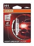 OSRAM 1 H1 B 55W12V+100, Night Breaker Silver, Blister (1 lámpara)