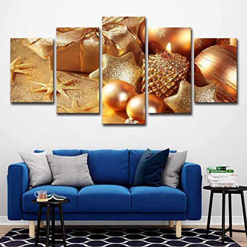 WSNDGWS Decoración para el hogar Pintura sobre Lienzo Flores y Adornos sobre Lienzo Sala de Estar Decoración del Dormitorio Pintura Sin Marco B3 40x60cmx2 40x80cmx2 40x100cmx1