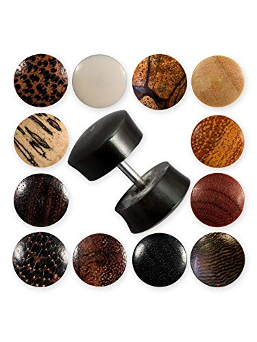 Fly Style Fake-Plugs - 18 Modelle aus Holz Horn Knochen, Modell:Modell R