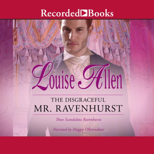 The Disgraceful Mr. Ravenhurst audiobook cover art