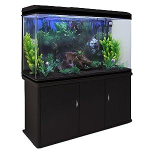 MonsterShop Fish Tank Aquarium Large Marine Tropical Salt Water & Complete Starter Kit, Filter, Air Pump...