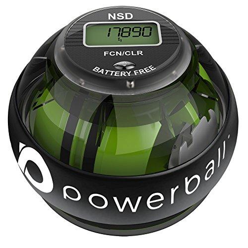 Powerball NSD 280Hz Autostart Ejercitador de Brazo, y Fortalecedor de Antebrazos, Mano y Muñeca, Negro (Pro)