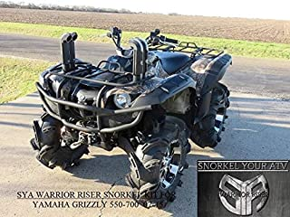 2007-15 Yamaha Grizzly 550/700 Warrior Riser Snorkel kit Without LED Light By SYA 0061