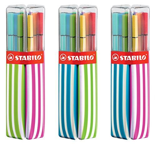 Premium-Filzstift - STABILO Pen 68 - 20er Twin Pack mit 10 Pack sortiert