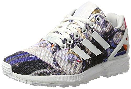 Adidas Zx Flux, Scarpe da Corsa Unisex Adulto, Nero (Black/Black/White), 44