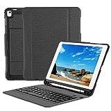 OMOTON Custodia con Tastiera Bluetooth per Nuovo iPad 9.7 2018&2017/iPad PRO 9.7/iPad Air...