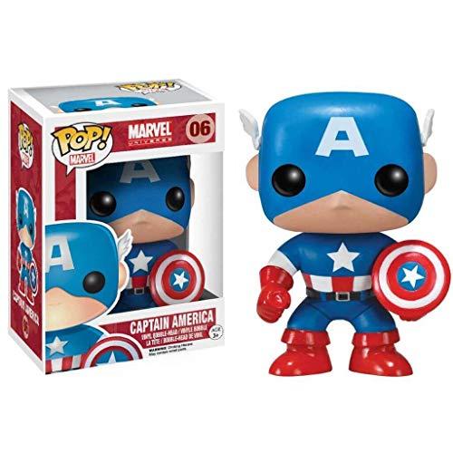 Funko POP!: Marvel: Capitán América