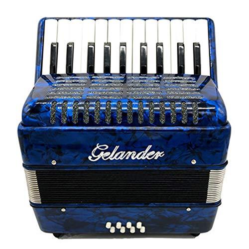 M-zutx Acordeones for principiantes Ilustración 8 Bajo Conjunto de 22 teclas Instrumento...