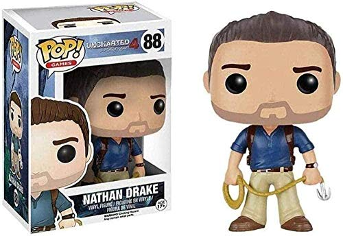 Mdcgok Zzj Nathan Drake Pop Figure Uncharted 4 Vinyl Pop Exquisito Coleccionable Pop Figura Juguetes para Adolescentes