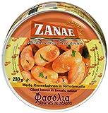 Zanae Dicke weiße Bohnen, in l , 3er Pack (3 x 280 g Packung)