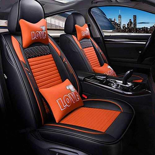 Fundas de Asiento de Coche de Cuero universales de Calidad para Ford Todos los Modelos Fiesta Focus