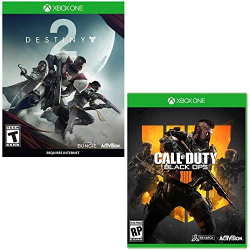 Call of Duty: Black Ops 4 - Xbox One Standard Edition and Destiny 2 Bundle