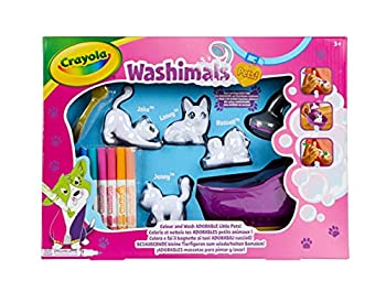 Crayola Scribble Scrubbie Pets Scrub Tub Animal Toy Set Gift for Kids Ages 3 4 5 6