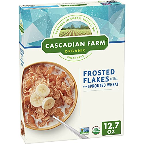 Cascadian Farm Sprouted Frosted Flake Cereal, 14.5 OZ