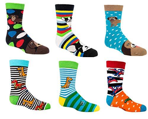 C&C KIDS C&C KIDS Kinder Socken,6Pack,23/26,Wilde Tiere
