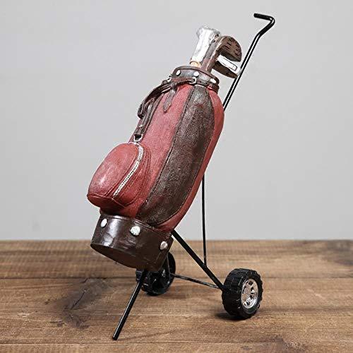 Retro golfclubs Model Hars artikelen voor ambachten Foto Props bar café winkel Decoratie nieuw