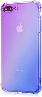 Oihxse Cristal Case - Compatible con Huawei Nova 3iP Smart Plus Funda Ultra-Delgado Silicona TPU Suave Airbag Gradiente ...