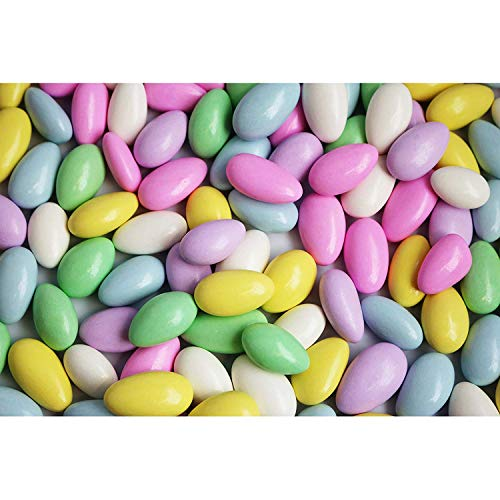 FirstChoiceCandy Jordan Almonds (5 Pound, Assorted Pastel Colors)